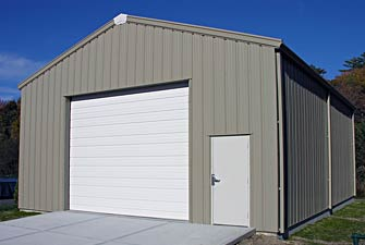 Straightwall Steel Buildings